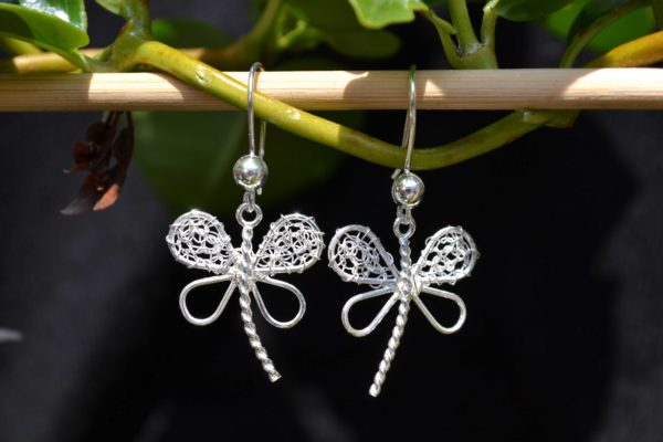 Zilveren Kleine Libellen