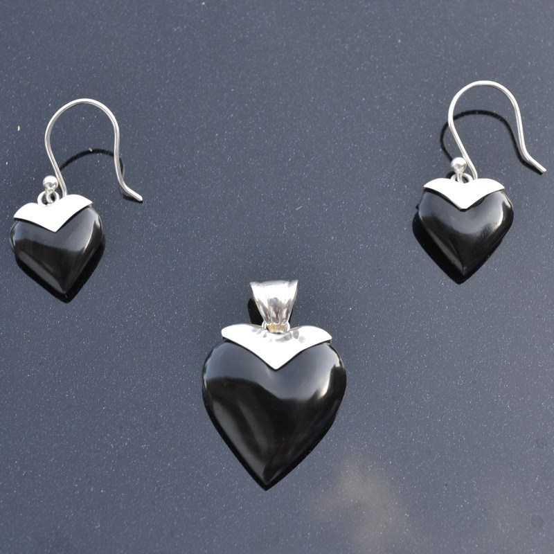 Zilveren set Liefde