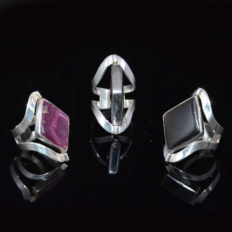 Zilveren ring Maddie