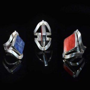 Zilveren ring Midas