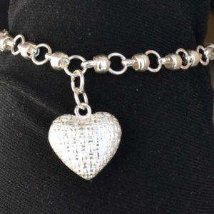 Zilveren armband Liefde