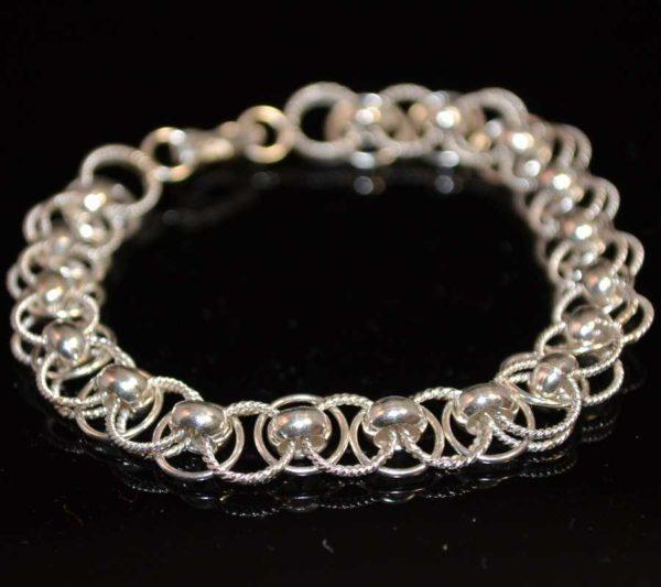 Zilveren armband Charm