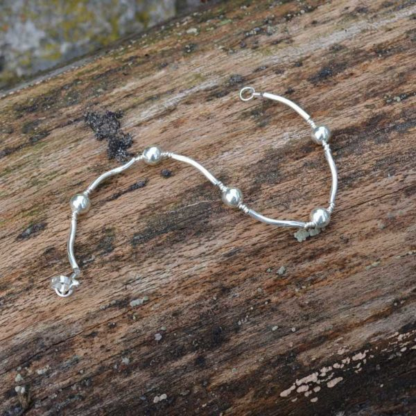 Zilveren armband Salie