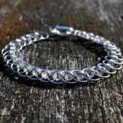 Zilveren armband Glam 2