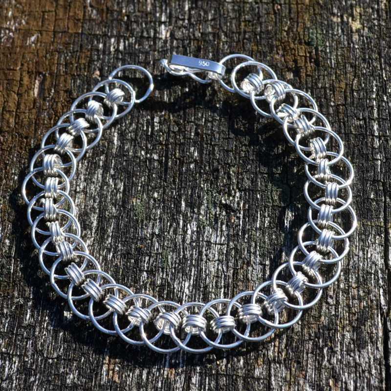 Zilveren armband Glam