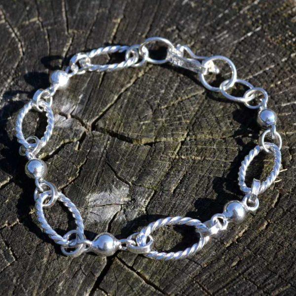 Zilveren armband Viena