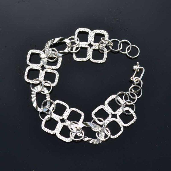 Zilveren armband Tresor