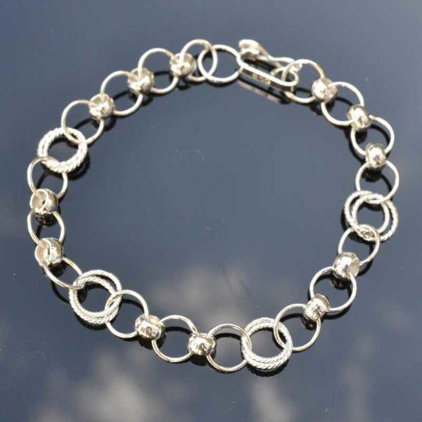 Zilveren armband Bonita
