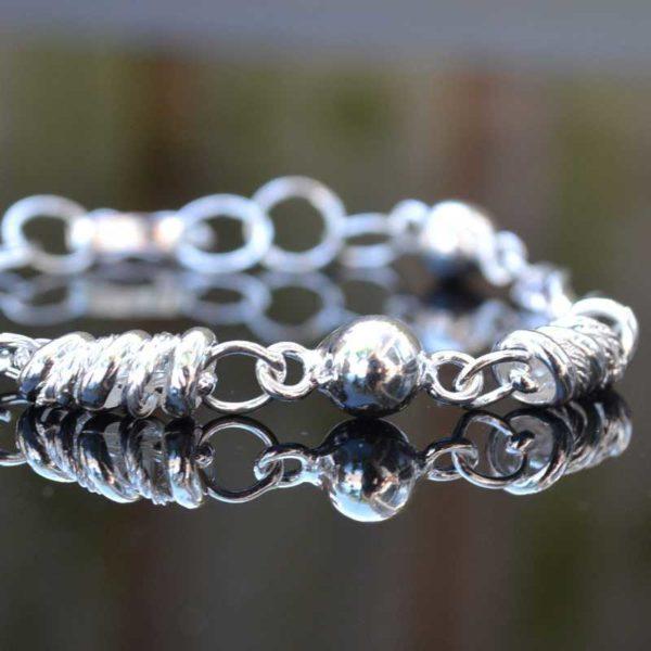 Zilveren armband Sybille