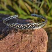 Zilveren klemarmband 1742