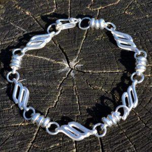 Zilveren armband Bella