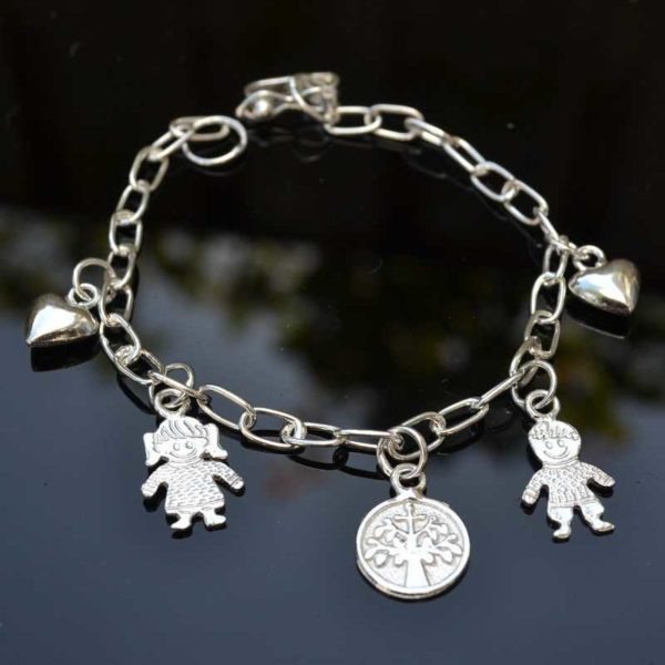 Zilveren armband Moeder