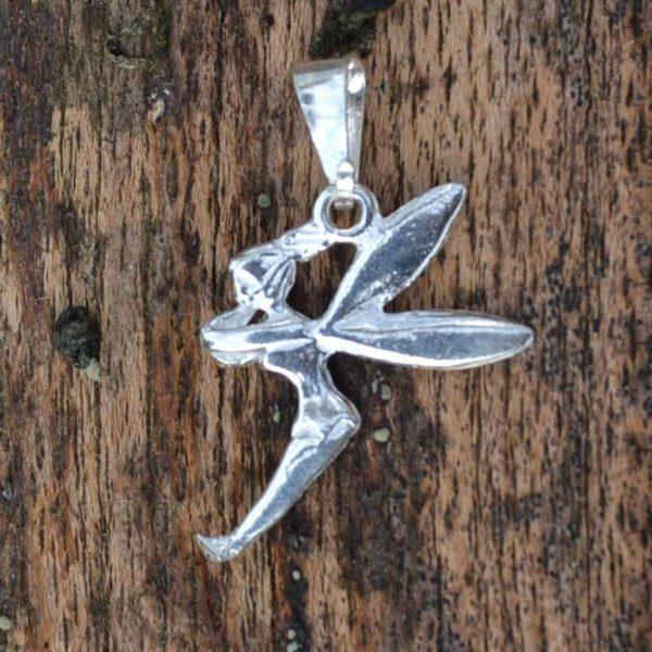 Zilveren hanger Tinkerbell
