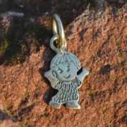 Zilveren bedel Jongen mini