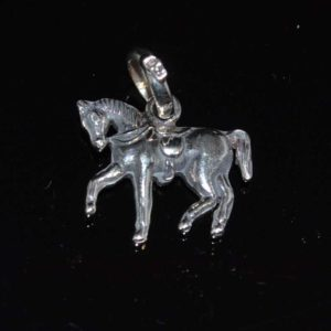 Zilveren Hanger Paard II