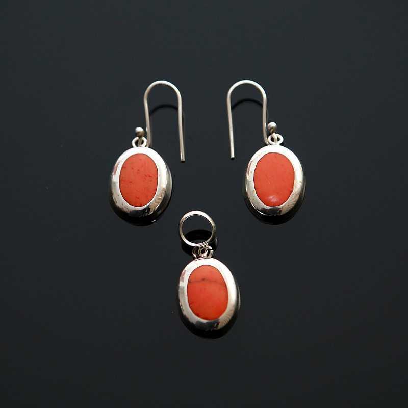 Zilveren set Oranje