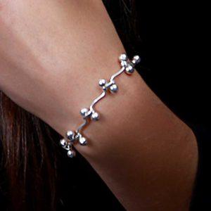 Zilveren armband Vie