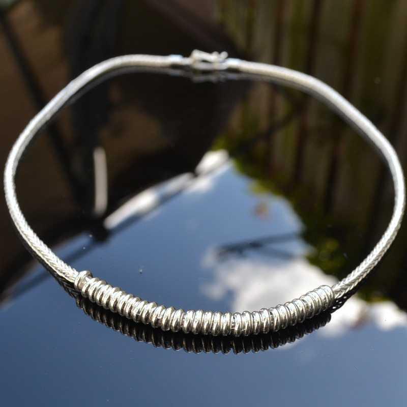 Zilveren ketting Nova