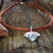 Zilveren ketting Oranje 3
