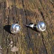 Zilveren oorstekers Lin 2