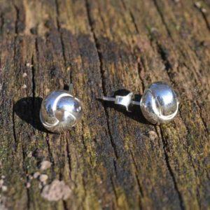 Zilveren oorstekers Lin