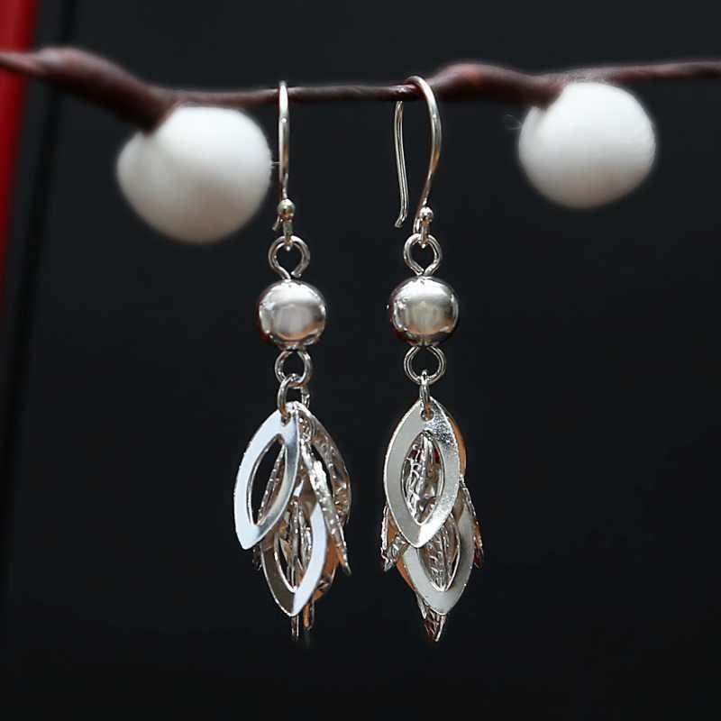 Zilveren oorbellen Gilda