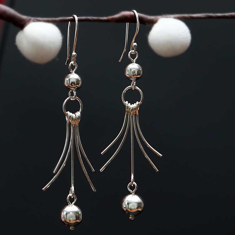 Zilveren oorbellen Fine 20133