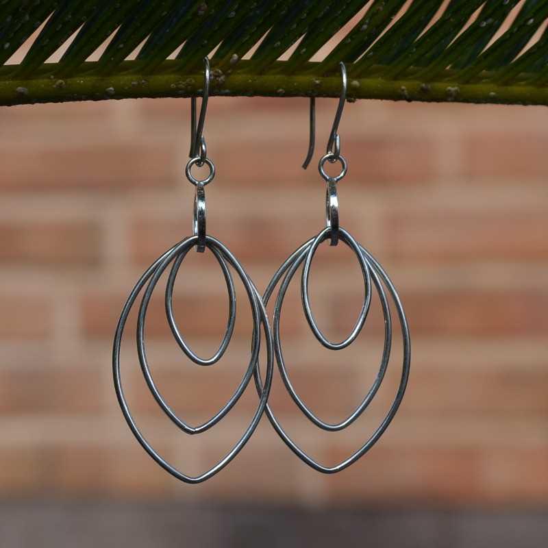 Zilveren oorbellen 20132
