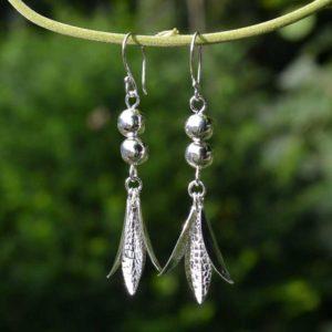 Zilveren oorbellen Nice