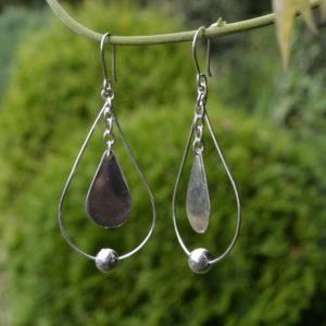 Zilveren oorbellen Grande