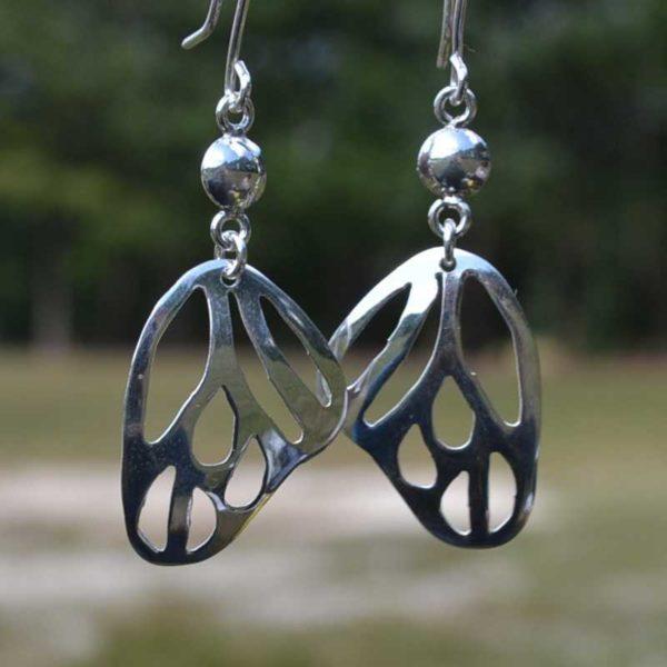 Zilveren oorbellen Val