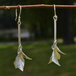 Zilveren oorbellen Ada