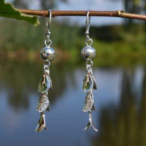 Zilveren oorbellen Mila
