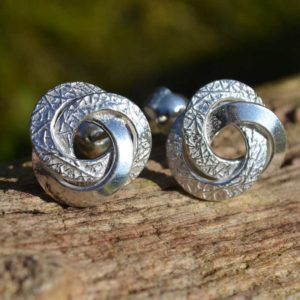 Zilveren oorbellen Carrie