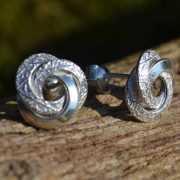 Zilveren oorbellen Carrie 2