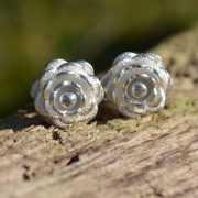 Zilveren oorbellen Rosa 2