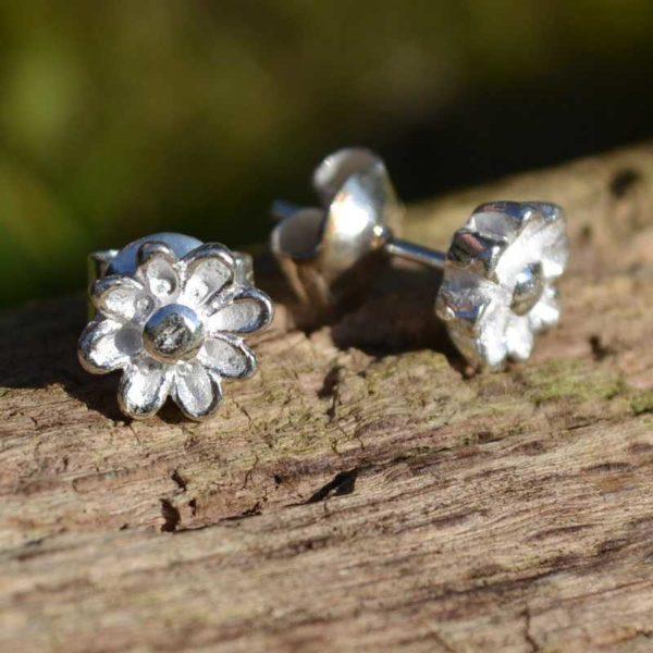 Zilveren oorbellen Margriet