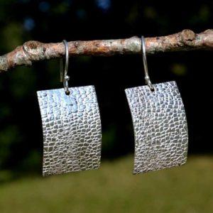 Zilveren oorbellen Uniek