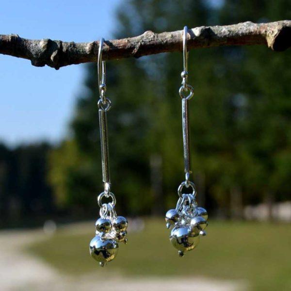 Zilveren oorbellen Milett