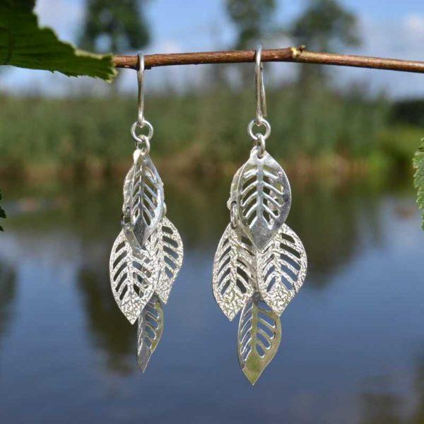 Zilveren oorbellen Venice