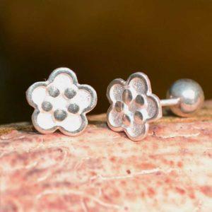 Zilveren oorbellen Mini