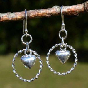 Zilveren oorbellen Lief