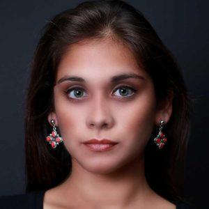 Zilveren oorbellen Mashua