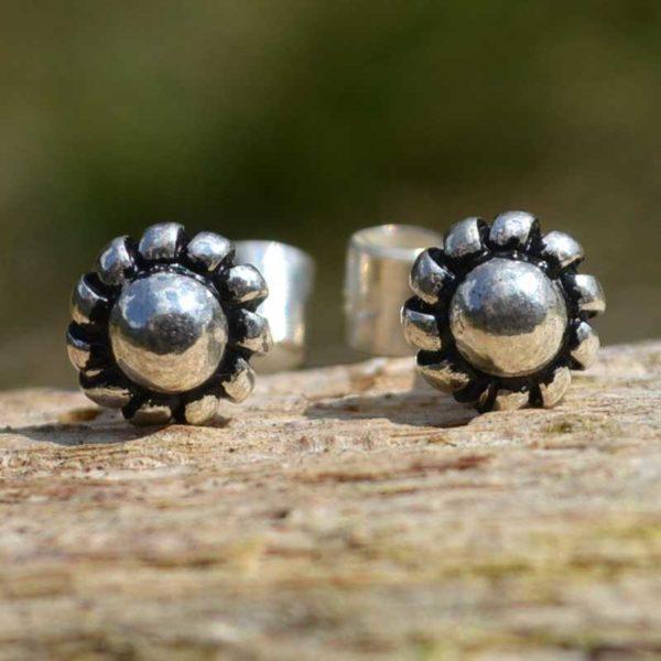 Zilveren oorbellen Mini Jill