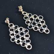 Zilveren oorbellen 20135