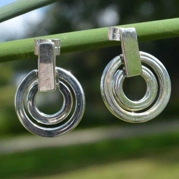 Zilveren oorbellen Nina