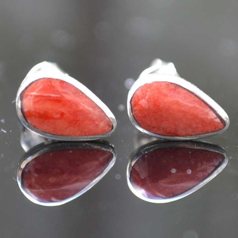 Zilveren oorstekers Inca