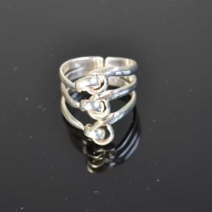 Zilveren ring 6004