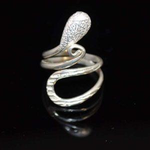 Zilveren ring 6009