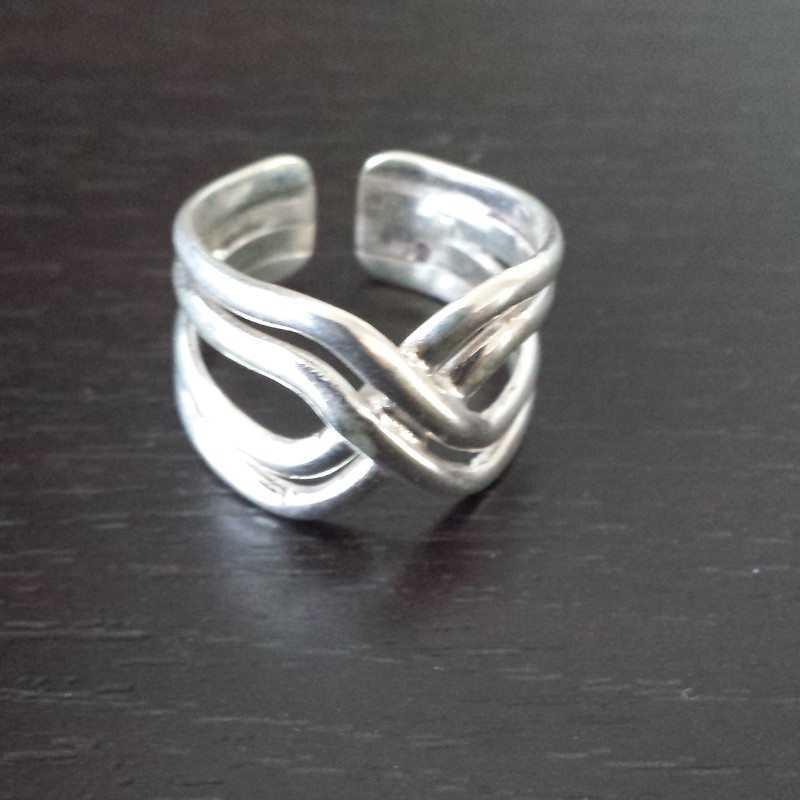 Zilveren ring 6010
